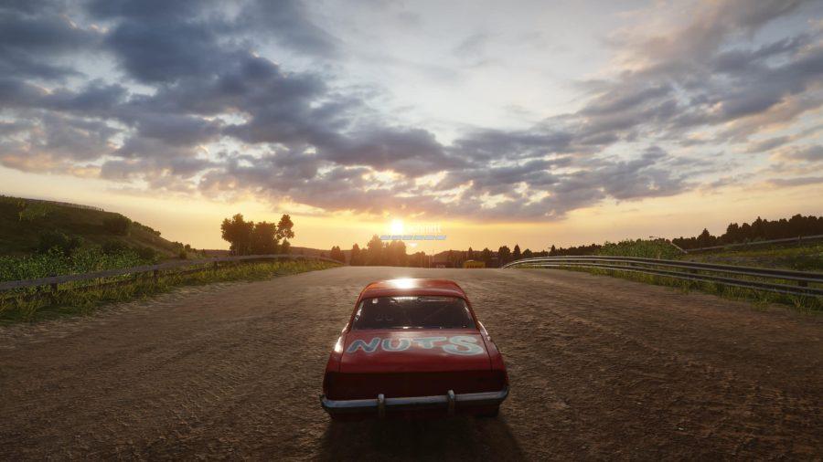 O sol no horizonte passa uma sensação tranquila, mas somente até a próxima colisão.
