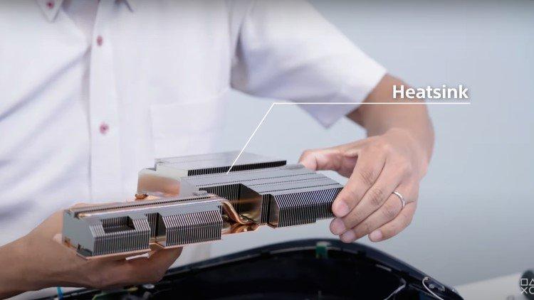 As dimensões do PS5 são justificadas quanto entendemos o tamanho e o funcionamento de seu mecanismo de resfriamento.